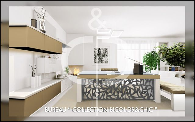 "BUREAU ""COLLECTION BICOLOR&CHIC"""