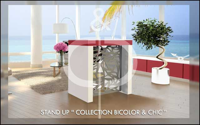 "STAND UP ""COLLECTION BI-COLOR&CHIC"""